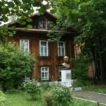 дом и памятник академика Мельникова в Сарапуле