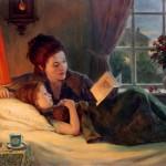 Для чего ребенку чтение на ночь