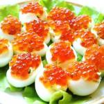Разнообразные начинки для фаршированных яиц