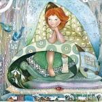 «Весну разбудили» - выставка-продажа батика Елены Ведерниковой