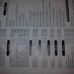 цены в ресторане Старая Башня на напитки