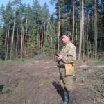 охота на рябчика Пентеговский лес