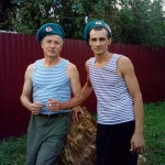 день ВДВ Сарапул Александр Власов и Алмаз Хабибулин