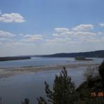 река Кама высокий берег