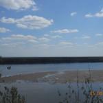 река Кама высокий берег д. Докша