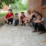 на игровой площадке Сарапул (Элеконд) 2011