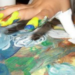 Нетрадиционные способы рисования для детей