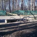 последствия урагана в Сарапуле ул.Гагарина