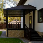 Как сделать красивое и уютное крыльцо на даче