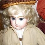 Выставка антикварных кукол из частной коллекции
