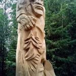 Алангасар в заповеднике Лудорвай
