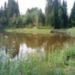 озеро в заповеднике Лудорвай