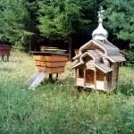 пчелинный улей в виде церкви в Лудорвае