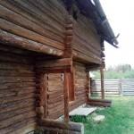 старые постройки древних Удмуртов в музее Лудорвай