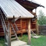 старый амбар в музее Лудорвай