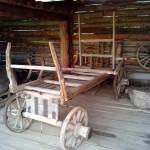 телега в музее Лудорвай