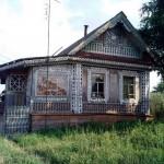 деревянное зодчество село Тарасово