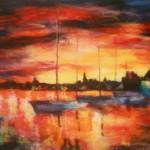 Выставка авторских картин Дарьи Дерюшевой «По мотивам ночи»