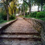 каменная лестница санаторий Варзи-Ятчи
