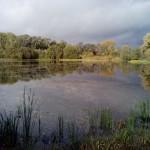 пруд осенью Варзи-Ятчи