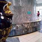 ваза, краны с минеральной водой питьвой галереи санаторий Варзи Ятчи