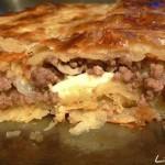 Пирог с вареным мясом – быстро и вкусно