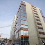 новое десятиэтажное общежитие Уральского федерального университета