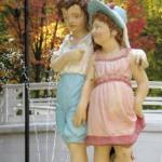 фонтан «Дети под дождем»