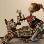 авторская кукла Натальи Минаевой