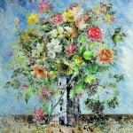 Никас Сафронов Цветы из голубого замка