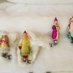старинные винтажные новогодние игрушки