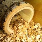 Домик для сухопутной черепахи из дерева